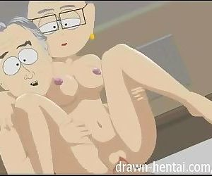 South Park Hentai - Richard and Mrs Garrison